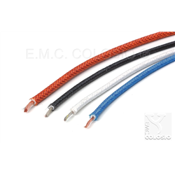Silicone + Fiber Glass Braid C01--